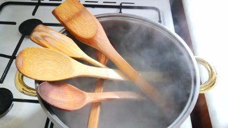 Come pulire i mestoli in legno in maniera naturale