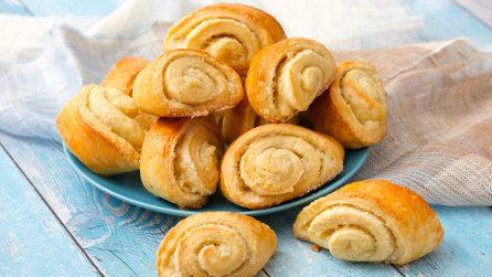 Rotolini yogurt e vaniglia: i biscotti golosi perfetti per la colazione!