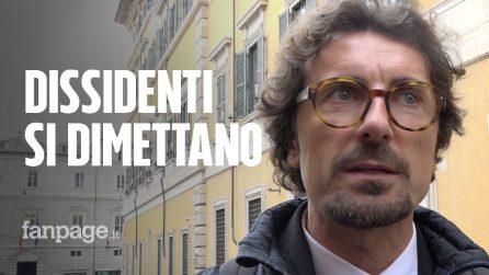 """M5S, Toninelli: """"Dissidenti dovrebbero dimettersi"""". Romeo (Lega): """"Altri pronti a venire con noi"""""""