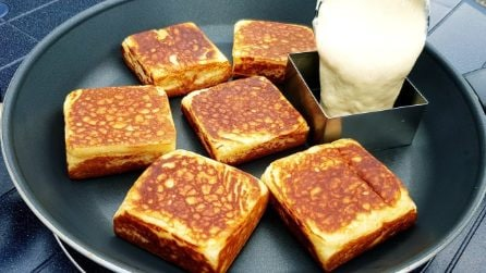 Pancakes quadrati: la ricetta semplice per una colazione golosa