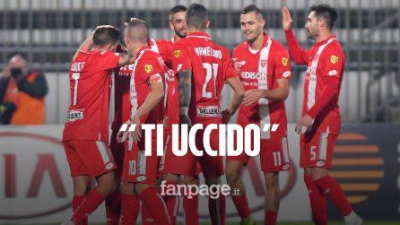 """Minacce di morte al calciatore del Monza: """"Sei un morto che cammina, perdete o ti uccido"""""""