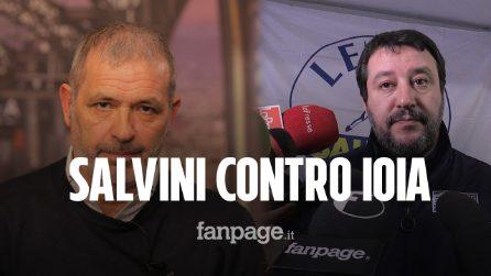 """Salvini in visita al carcere di Poggioreale: """"Pietro Ioia Garante dei detenuti? È una vergogna"""""""