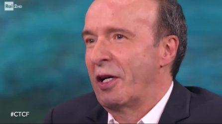 """Roberto Benigni annuncia la partecipazione a Sanremo 2020: """"Non so se Amadeus verrà"""""""