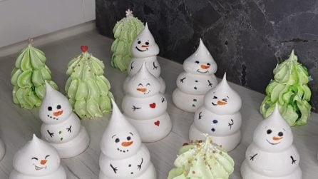 Meringhe di Natale: l'idea golosa e originale