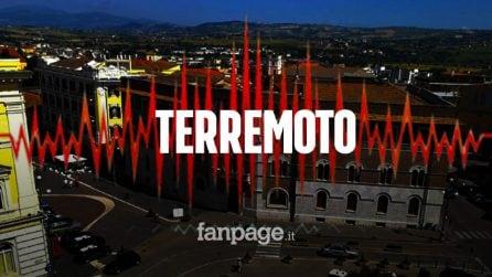 Terremoto a Benevento: quattro scosse questa mattina di magnitudo tra 3 e 3.7