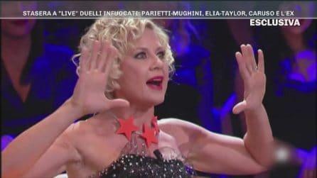 Le anticipazioni dello scontro tra Antonella Elia e Taylor Mega