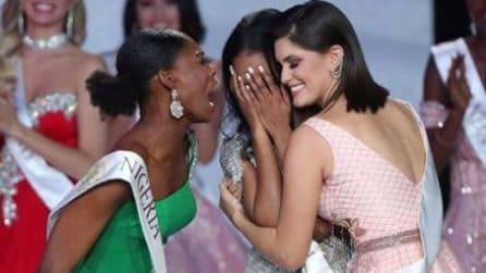 Viene eletta Miss Universo e resta impietrita: è incredibile quello che fa l'avversaria