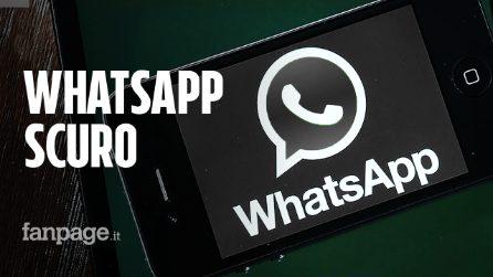 WhatsApp, il tema scuro è in arrivo: ecco il trucco per provarlo