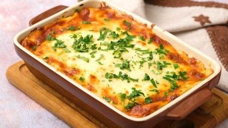 Chicken lasagna: every bite is a creamy, dreamy, cheesy thrill