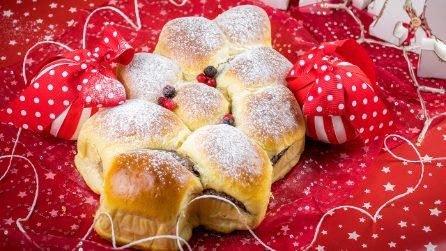 Albero di pan brioche: un cuore caldo di cioccolato che vi conquisterà!