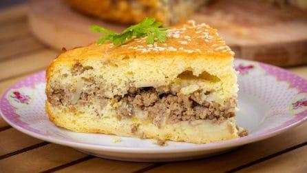 Torta salata ripiena di carne: la ricetta ideale per una cena sfiziosa!