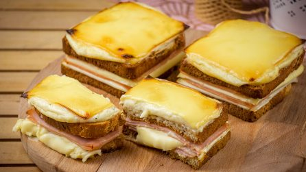 Croque monsieur: one of the most delicious toast ever!