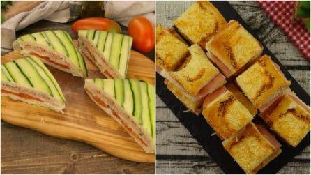 3 ricette facili e gustose con il pane per tramezzini!