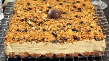 Torta senza cottura al caramello: una vera delizia per il palato