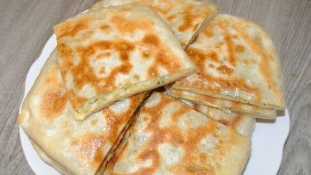 Piadine ripiene: la ricetta rustica che amerete
