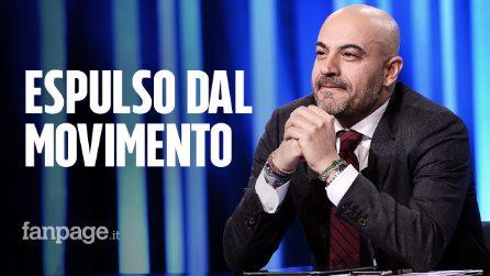 """Gianluigi Paragone espulso dal Movimento 5 Stelle: """"Espulso dal nulla. C'era una volta il 33%..."""""""