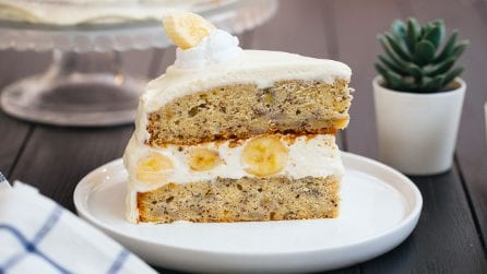 Banana Layer Cake: this is everything you want!