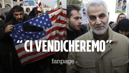 """Iraq, raid Usa uccide generale iraniano Soleimani, Teheran: """"È terrorismo, ci vendicheremo"""""""