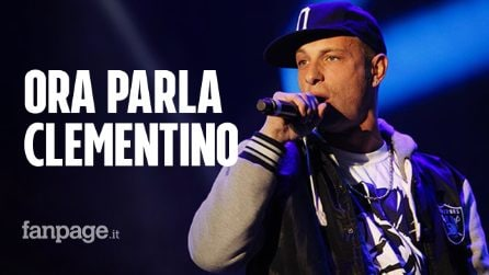 """Il rapper Clementino sotto accusa per aver lanciato marijuana ad un concerto: """"È tutto falso"""""""