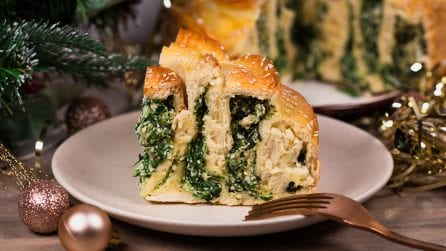 Spinach and ricotta savory cake: the result will leave you speechless!
