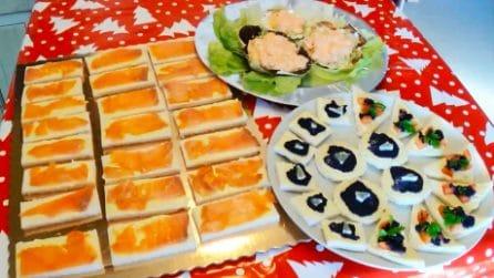 Tris di antipasti: tre ricette sfiziose per stupire i tuoi ospiti