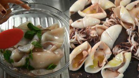 Calamari al mojito: una ricetta alternativa e molto saporita