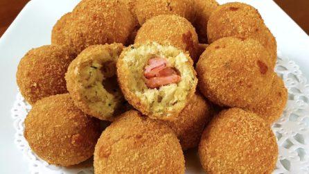 Polpette di pesce con cuore di gamberi: la ricetta gustosa e natalizia