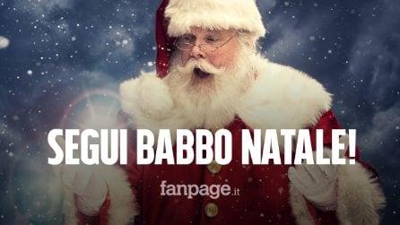 In quale parte del Mondo sta consegnando i regali Babbo Natale? Ecco come scoprirlo