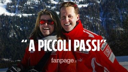 """Schumacher, la moglie Corinna dà un segnale di speranza: """"Le grandi cose iniziano a piccoli passi"""""""