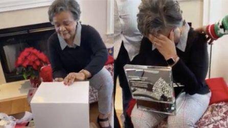 È il primo Natale senza suo marito dopo 59 anni: i figli le fanno un regalo davvero speciale