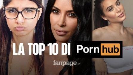 Le 10 pornostar più cercate su Pornhub nel 2019: la classifica completa
