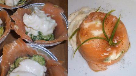 Sformatini di salmone con stracchino: l'antipasto sfizioso e pieno di gusto