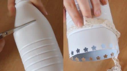 Come riutilizzare le bottiglie del latte: un riciclo davvero creativo
