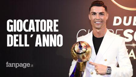 Globe Soccer Awards, trionfa Cristiano Ronaldo: è il miglior giocatore dell'anno