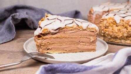 Torta millefoglie al cioccolato: un dessert raffinato e facile da preparare!