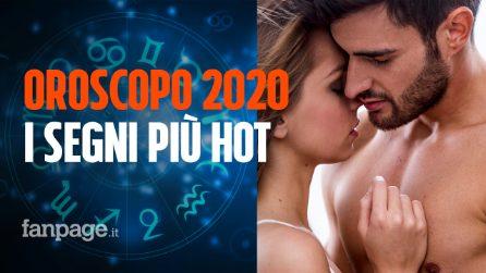 Oroscopo 2020, la classifica dei segni più hot secondo le stelle