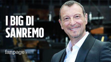 Sanremo 2020, Amadeus svela i nomi dei 22 big che parteciperanno al Festival