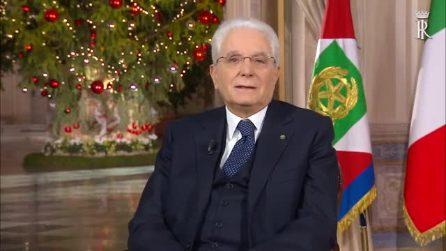 """Il discorso di fine anno di Sergio Mattarella: """"Ritroviamo orgoglio di essere italiani"""""""