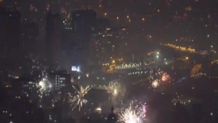 Capodanno 2020, Napoli si trasforma in una polveriera allo scoccare della mezzanotte