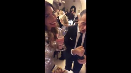 Ida Platano e Riccardo Guarnieri insieme a Capodanno 2020