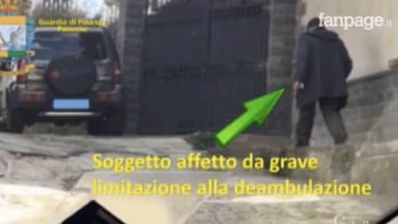 Palermo, finanzieri scoprono falsi invalidi: due arresti