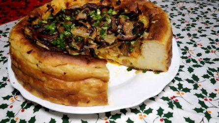 Torta salata con patate e funghi: la ricetta per stupire i tuoi ospiti