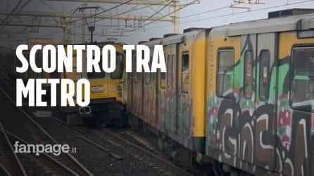Metropolitana di Napoli, incidente sulla Linea 1: scontro fra treni, ci sono feriti