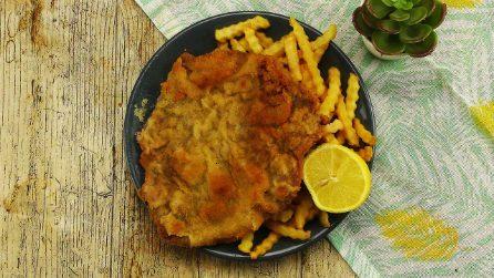 Schnitzel: la cotoletta XXL perfetta per una cena veloce e saaporita!