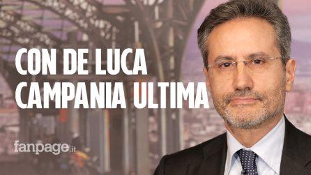 """Stefano Caldoro: """"De Luca è buono solo a far rumore, col suo governo la Campania è sprofondata"""""""