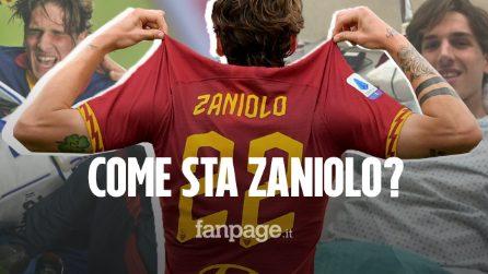 """Infortunio Zaniolo, dopo l'operazione il sorriso: """"Grazie a tutti, non vedo l'ora di tornare"""""""