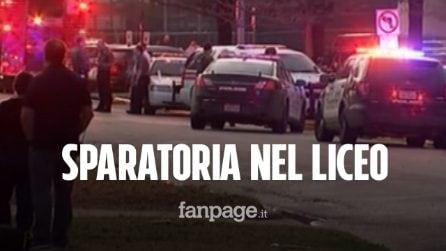 Sparatoria in un liceo: morto un 16enne, il killer è un compagno di classe