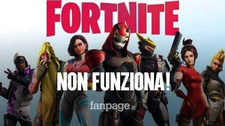 Fortnite è offline: ecco perché e quando il gioco tornerà online
