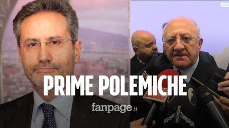 """Elezioni Regionali Campania, Caldoro attacca De Luca: """"Con lui Campania ultima"""". Il governatore: """"Rispondo con i fatti"""""""