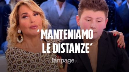 "Il Biondo Matty da Barbara D'Urso: ""Manteniamo le distanze"""